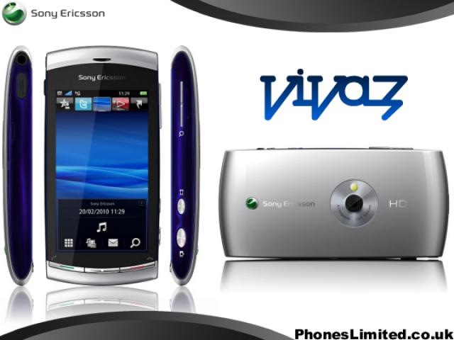 Sony Ericsson U5i (Vivaz) Silver. . Удобный, стильный аппарат на платформе